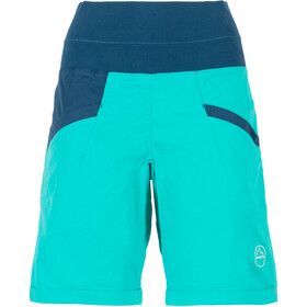 La Sportiva Ramp Pantalones cortos Mujer, aqua/opal